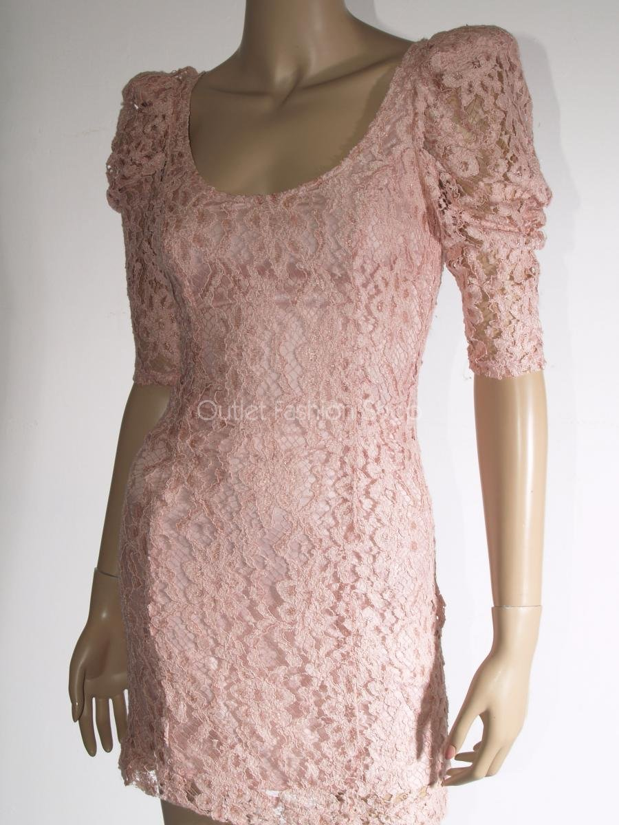 Lipsy šaty světle růžové krajkové sweet dc813d3966f
